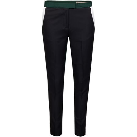 Golf undefined Womens Plaid Colour Block Trousers Pine - AW19 made by G/FORE