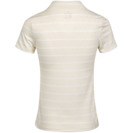 Golf undefined Womens Dry Stripe Polo Sail/White - AW19 made by Nike Golf