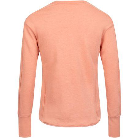 Golf undefined Womens Dry UV Crew Pink Quartz/Pure Platinum - AW19 made by Nike Golf