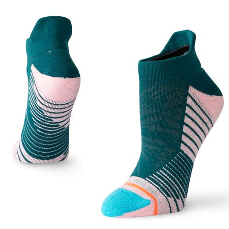 Socks Womens Painted Lady Tab Socks Green - AW19 Stance Picture