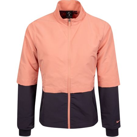 Golf undefined Womens Hyperadapt Shield Jacket Pink Quartz/Gridiron - AW19 made by Nike Golf