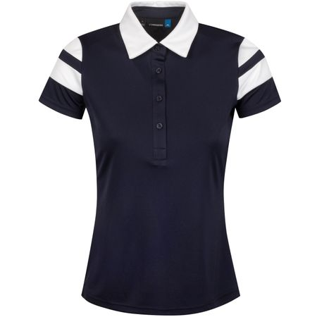 Golf undefined Womens Pixie TX Jersey JL Navy - AW19 made by J.Lindeberg