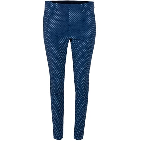 Trousers Womens Printed Eagle Pants Navy Dot - AW19 Polo Ralph Lauren Picture