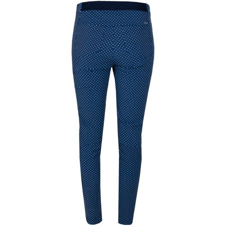 Golf undefined Womens Printed Eagle Pants Navy Dot - AW19 made by Polo Ralph Lauren
