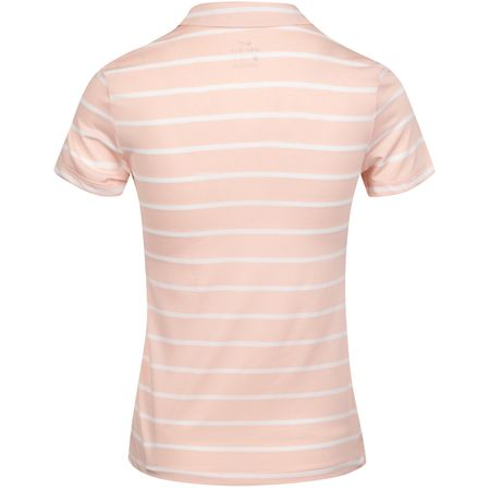 Polo Womens Dry Stripe Polo Echo Pink/White - AW19 Nike Golf Picture