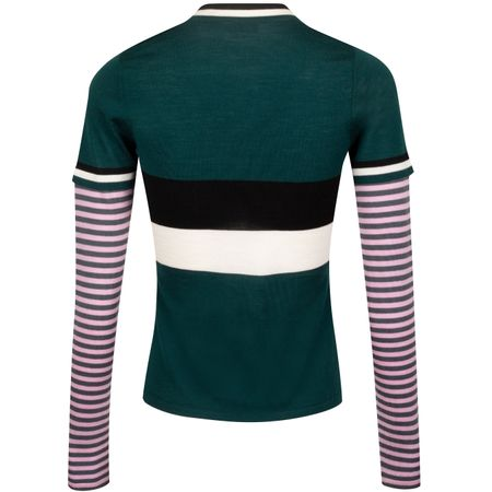 Hoodie Womens Multi Stripe Sweater Pine - AW19 G/FORE Picture