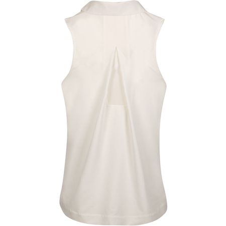 Polo Womens Dry Sleeveless Polo Sail - AW19 Nike Golf Picture