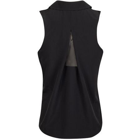 Golf undefined Womens Dry Sleeveless Polo Black - AW19 made by Nike Golf