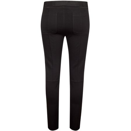 Golf undefined Womens Ponte Moto Pants Onyx - AW19 made by G/FORE