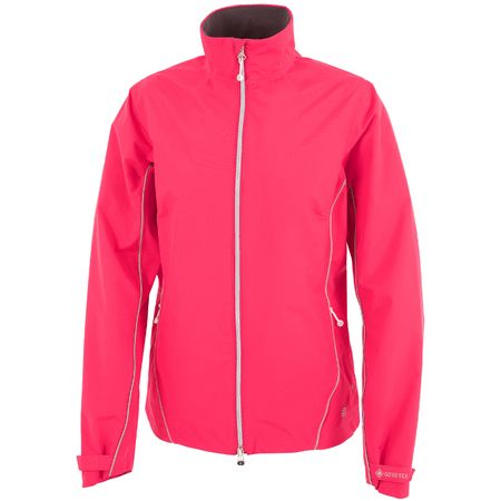 Golf undefined Womens Arissa Gore-Tex Jacket Azalea/Silver - AW19 made by Galvin Green
