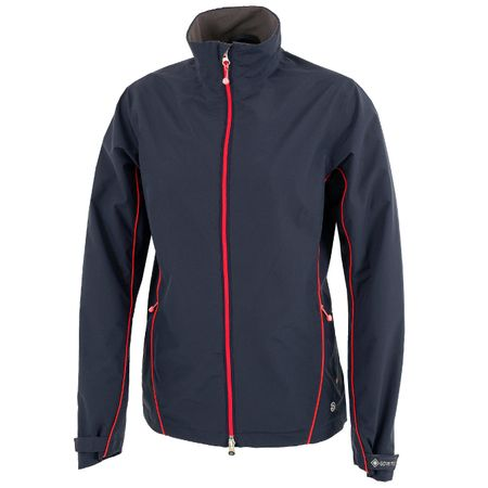 Golf undefined Womens Arissa Gore-Tex Jacket Navy/Azalea - AW19 made by Galvin Green