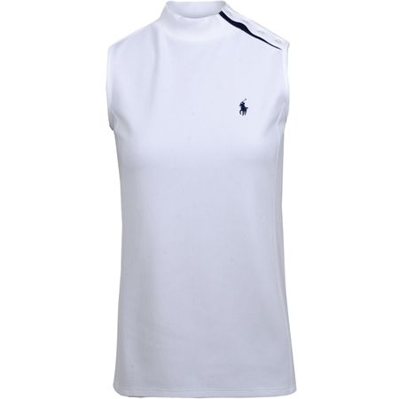 Golf undefined Womens SL Mockneck Top Pure White - AW19 made by Polo Ralph Lauren