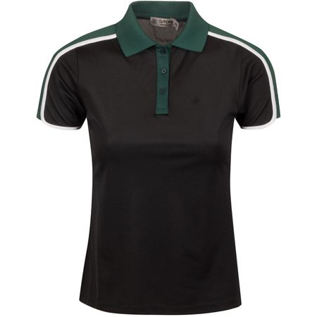Golf undefined Womens Tuxedo Polo Pine - AW19 made by G/FORE