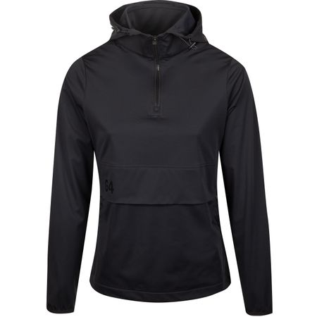 Golf undefined Womens Soft Shell Pullover Onyx - AW19 made by G/FORE