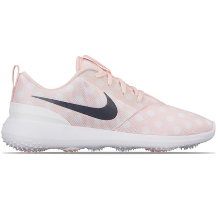 Shoes Womens Roshe Golf Echo Pink/Gridiron/White - AW19 Nike Golf Picture
