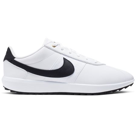 Shoes Womens Cortez Golf White/Black/Metallic Gold - AW19 Nike Golf Picture