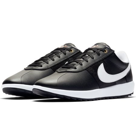 Shoes Womens Cortez Golf Black/White - AW19 Nike Golf Picture