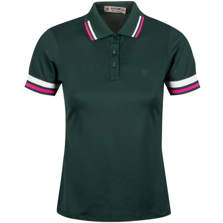 Polo Womens Tipped Polo Pine - AW19 G/FORE Picture