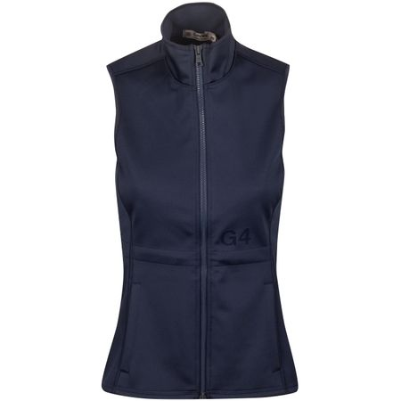 Golf undefined Womens Tech Fleece Vest Twilight - AW19 made by G/FORE