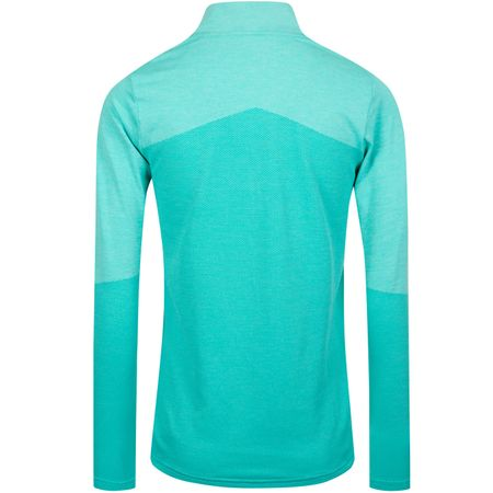Golf undefined Womens Evoknit Quarter Zip Blue Turquoise - AW19 made by Puma Golf
