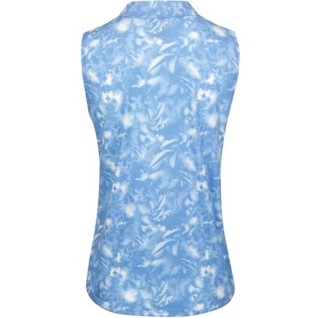 Golf undefined Womens Flower Sleeveless Polo Ultramarine - AW19 made by Puma Golf