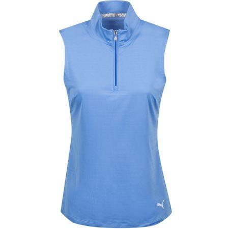 Golf undefined Womens Sleeveless Mock Ultramarine - AW19 made by Puma Golf