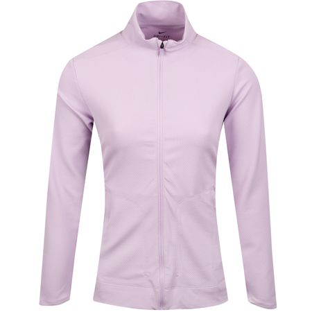 MidLayer Womens Dry UV Full Zip Lilac Mist Nike Golf Picture