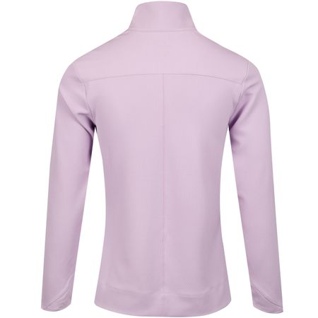 MidLayer Womens Dry UV Quarter Zip Top Lilac Mist Nike Golf Picture
