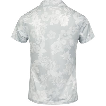 Golf undefined Womens Dri-Fit UV Floral Polo Pure Platinum made by Nike Golf