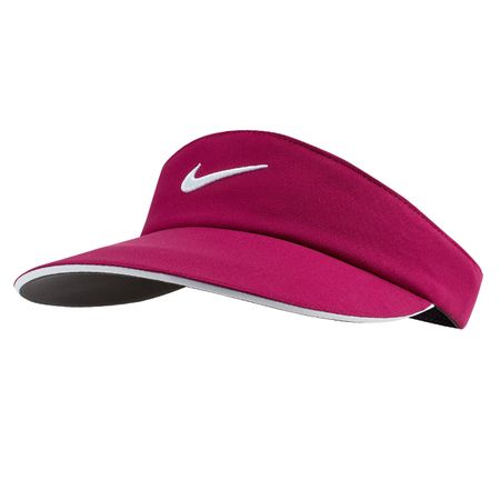 Golf undefined Womens Aerobill Statement Visor True Berry/Black made by Nike Golf