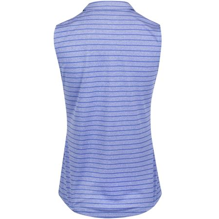 Golf undefined Womens Rotation Stripe SL Polo Dazzling Blue - AW19 made by Puma Golf