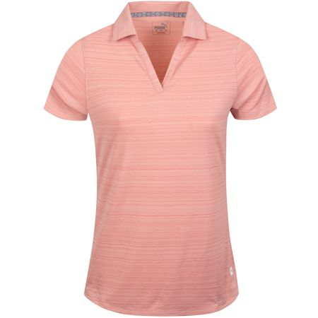 Golf undefined Womens Coastal Polo Bridal Rose - AW19 made by Puma Golf