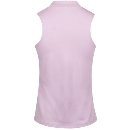 Golf undefined Womens Dry Blade Sleeveless Polo Lilac Mist made by Nike Golf
