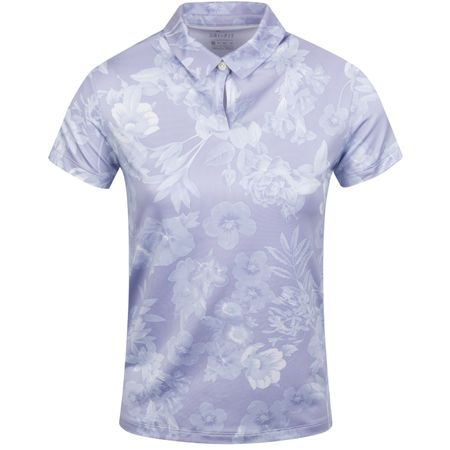 Golf undefined Womens Dri-Fit UV Floral Polo Purple Dawn made by Nike Golf