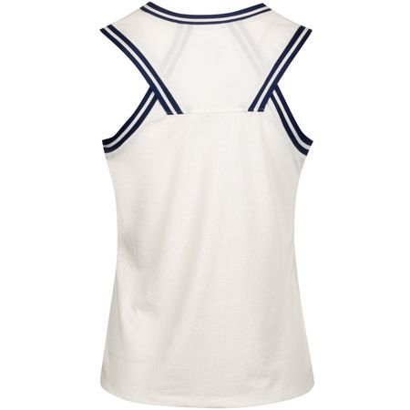 Golf undefined Womens Burnout Knit Sleeveless Polo Sail made by Nike Golf