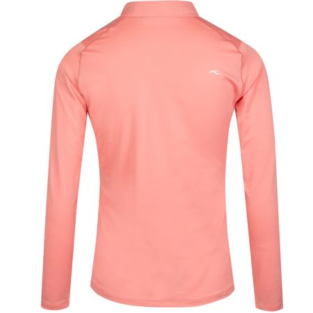 Golf undefined Womens Scotscraig Polo LS Rosy Blossom - SS19 made by Kjus