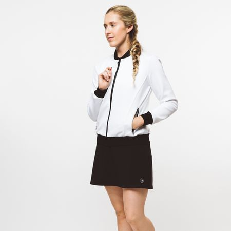 Golf undefined Womens Core Neoprene Jacket White - 2019 made by Foray Golf