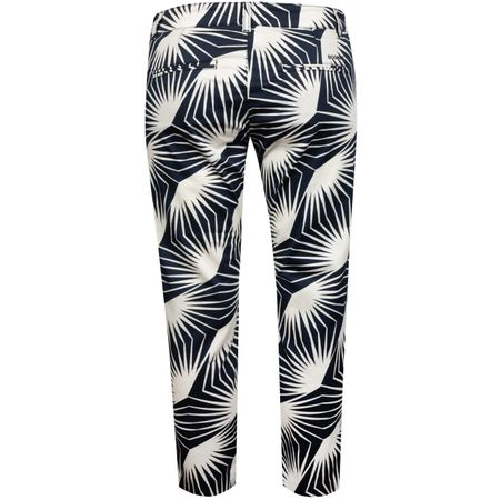 Golf undefined Womens Ricca-G Palmleaf Print Trousers Blue - SS19 made by Bogner