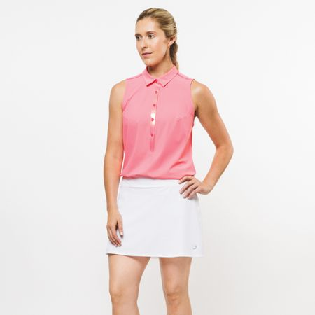 Polo Womens Core 2.0 Sleeveless Perforated Back Flamingo - 2019 Foray Golf Picture