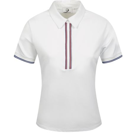 Golf undefined Womens Floom Official Polo White - 2019 made by Foray Golf