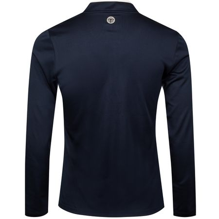 Golf undefined Womens Performance LS Half Zip Tory Navy/Snow White made by Tory Sport