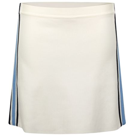 Golf undefined Womens Retro Stripe Performance Tennis Skirt Snow White/Ace Blue made by Tory Sport