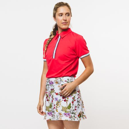 Golf undefined Womens Floom Official Polo Coral - 2019 made by Foray Golf