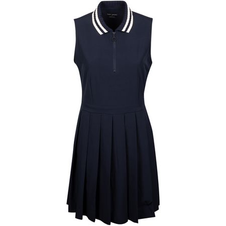 Golf undefined Womens Pleated Golf Dress Tory Navy made by Tory Sport