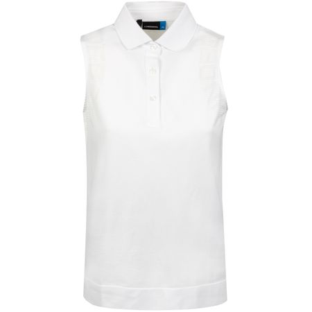 Polo Womens Gia Lightweight Seamless White - SS19 J.Lindeberg Picture