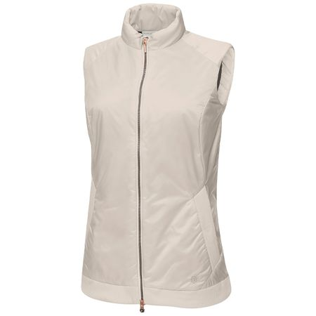 Golf undefined Womens Livia Interface-1 Vest Chalk Stone - 2019 made by Galvin Green