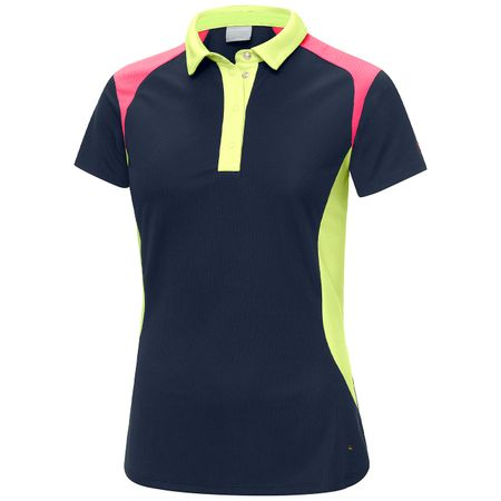 Golf undefined Womens Marylou Ventil8 Plus Navy/Sunny Lime/Aurora Pink - SS19 made by Galvin Green