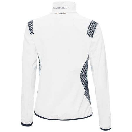 Jacket Womens Lisette Interface-1 Jacket White/Navy - SS19 Galvin Green Picture
