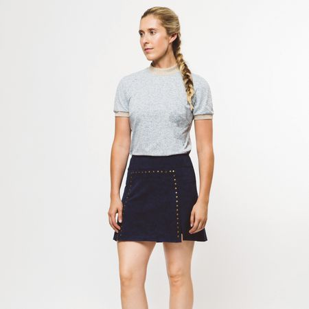 Skirt Womens Rockstud Skirt Navy/Blue Marino - 2019 Foray Golf Picture
