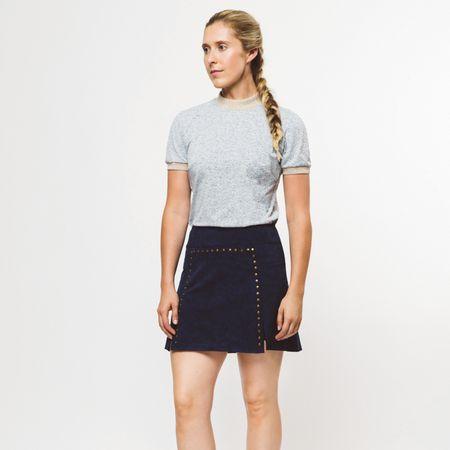 Golf undefined Womens Rockstud Skirt Navy/Blue Marino - 2019 made by Foray Golf